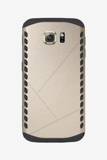 Noise Shield Back Case for Samsung Galaxy S6 Edge (Gold)