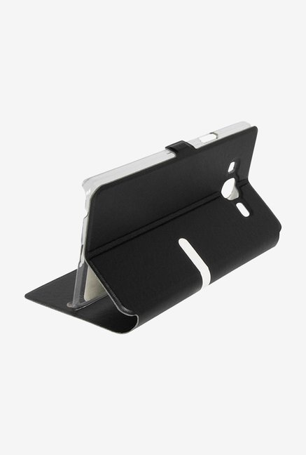 Noise Flip Cover for Samsung Galaxy On7 (Black)