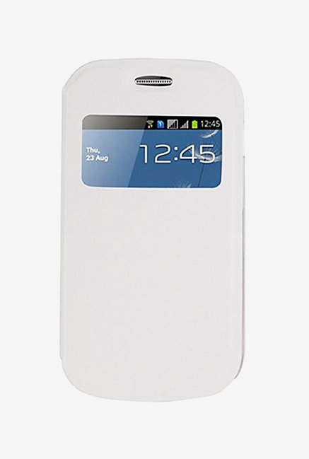 Noise Flip Cover for Samsung Galaxy S Duos S7562 (White)