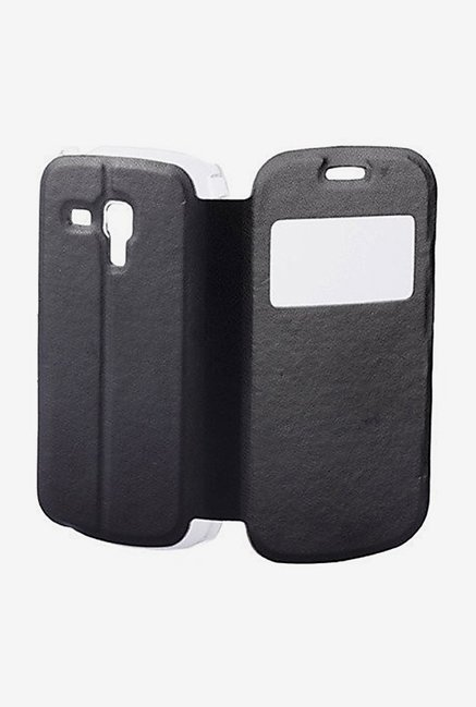 Noise Flip Cover for Samsung Galaxy S Duos S7562 (Black)