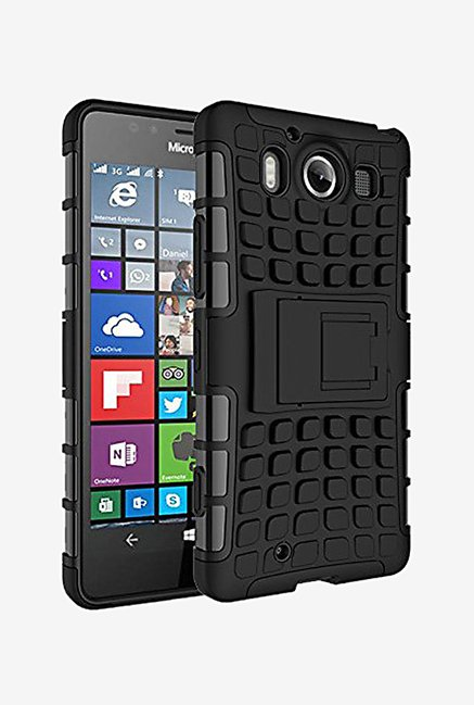 Noise Hybrid Back Case for Microsoft Lumia 950 (Black)