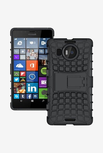 Noise Hybrid Back Case for Microsoft Lumia 950 XL (Black)