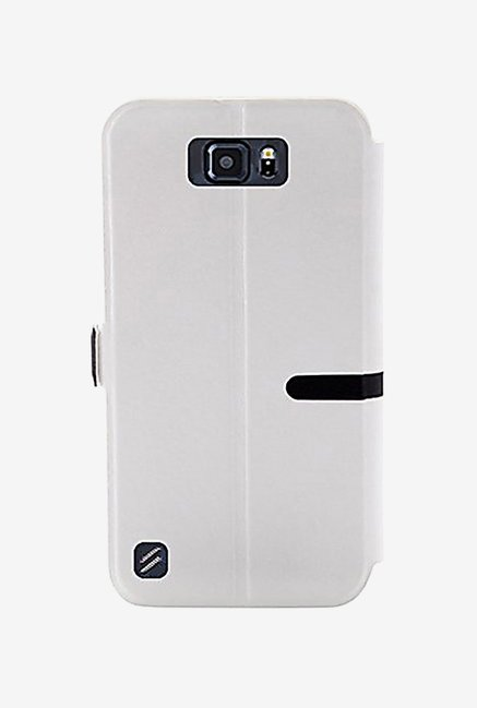 Noise Flip Cover for Samsung Galaxy S6 Active (White)