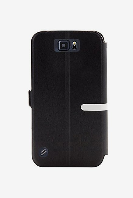 Noise Flip Cover for Samsung Galaxy S6 Active (Black)