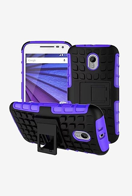 Noise Hybrid Back Case for Moto G (3rd Gen) (Purple)