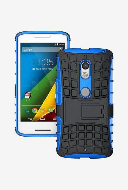 Noise Hybrid Back Case for Motorola Moto X Style (Blue)