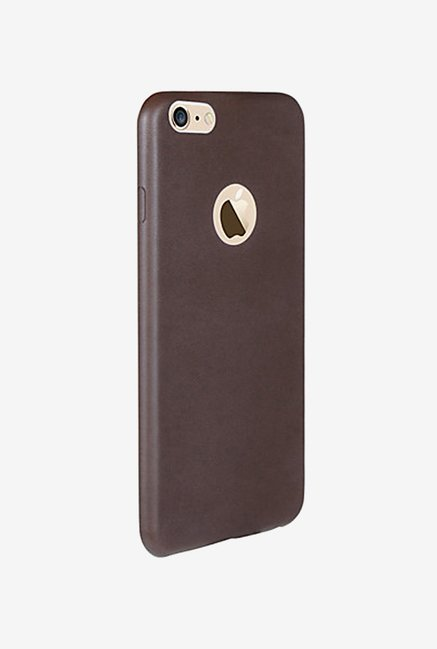 Noise Soft PU Back Case Cover for iPhone 6+ & 6S+ (Brown)