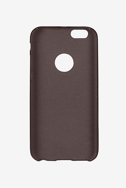 Noise Soft PU Back Case Cover for Iphone 6 & 6S (Brown)