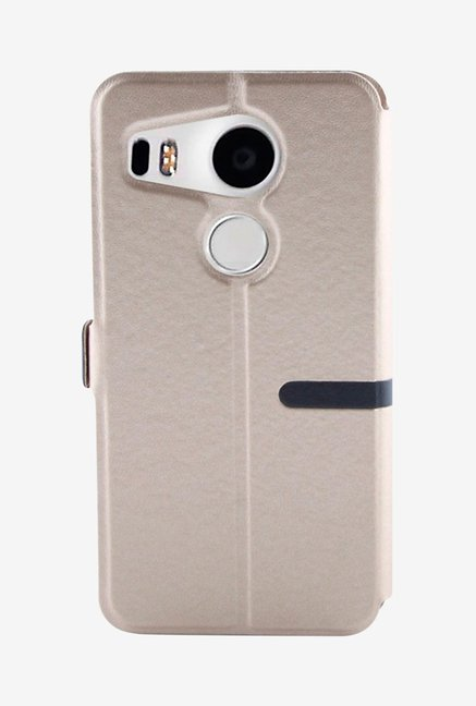 Noise Flip Cover for LG Nexus 5X (Gold)