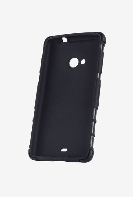 Noise Hybrid Back Case for Nokia Lumia 535 (Black)