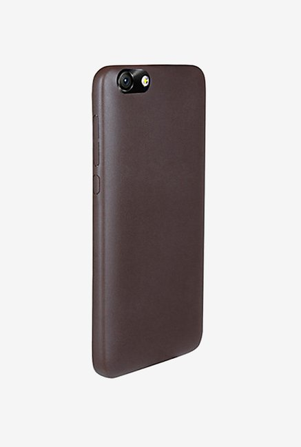 Noise Soft PU Back Case Cover for Huawei Honor 4X (Brown)