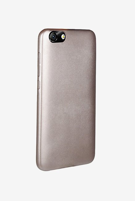 Noise Soft PU Back Case Cover for Huawei Honor 4X (Gold)