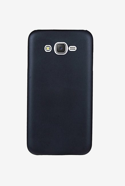 Noise Soft PU Back Case Cover for Samsung Galaxy J7 (Black)