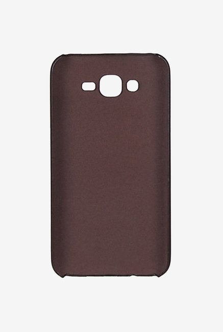 Noise Soft PU Back Case Cover for Samsung Galaxy J7 (Brown)