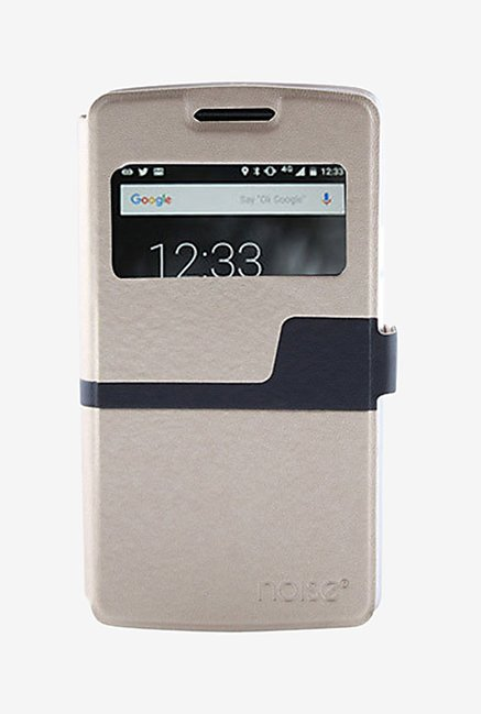 Noise Flip Cover for Meizu MX5 (Gold)
