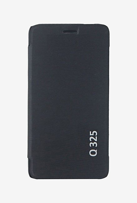 Noise Flip Cover for Micromax Bolt Q325 (Black)