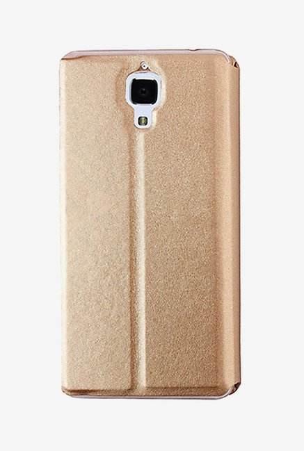Noise Flip Cover for Xiaomi Mi4 (Gold)