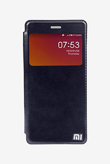 Noise Flip Cover for Xiaomi Mi4 (Black)