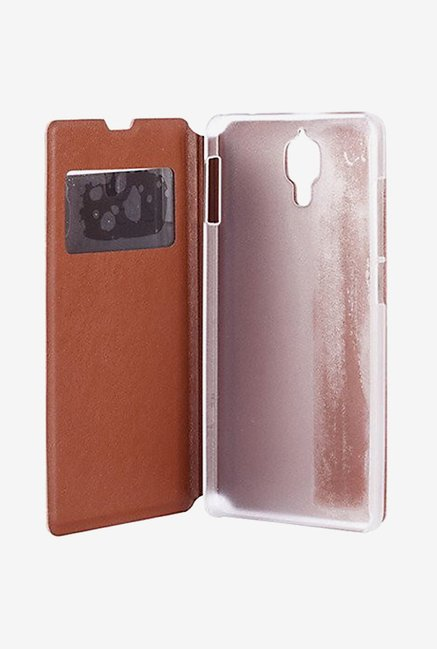 Noise Flip Cover for Xiaomi Mi4 (Brown)