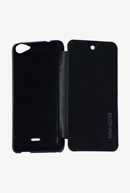 Noise Flip Cover for Micromax Bolt Q338 (Black)