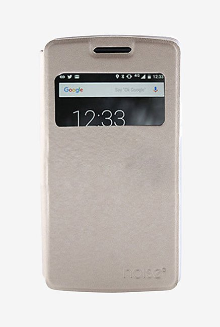 Noise Flip Cover for Xioami Mi 4i (Gold)