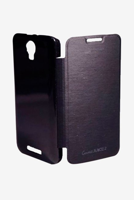 Noise Flip Cover for Micromax Canvas Juice 2 AQ5001 (Black)