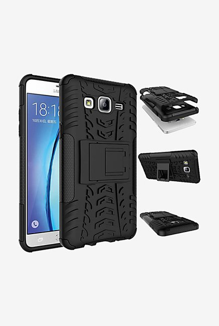 Noise Hybrid Back Case for Samsung Galaxy On5 (Black)