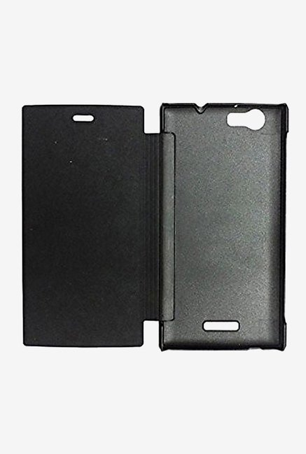 Noise Flip Cover for Micromax Canvas Nitro 2 E311 (Black)