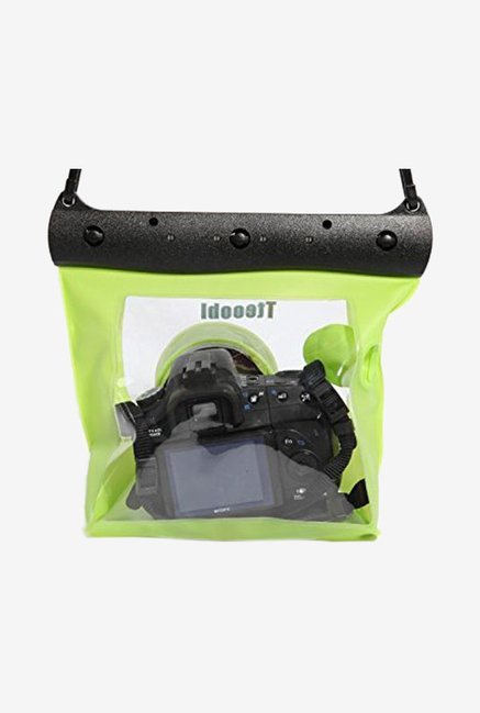 Noise Waterproof Camera Pouch (Green)
