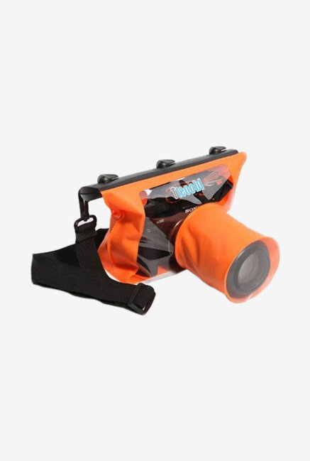 Noise Waterproof Camera Pouch (Orange)