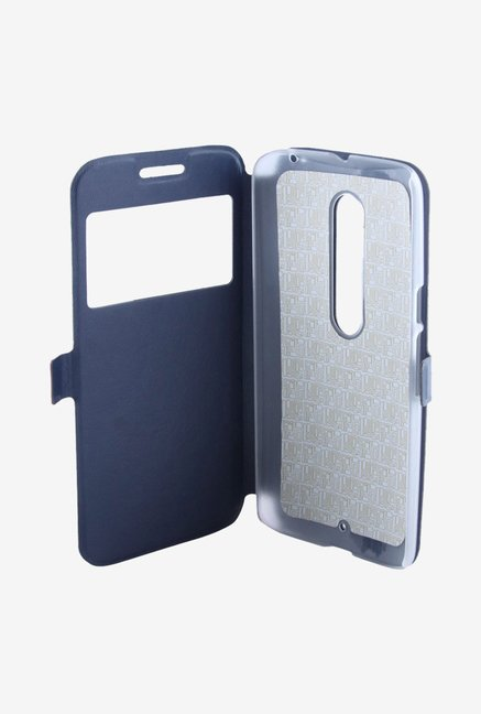 Noise Flip Cover for Motorola Moto X Style (Blue)