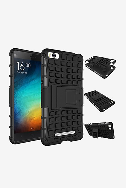 Noise Hybrid Back Case for Xiaomi Mi 4c (Black)