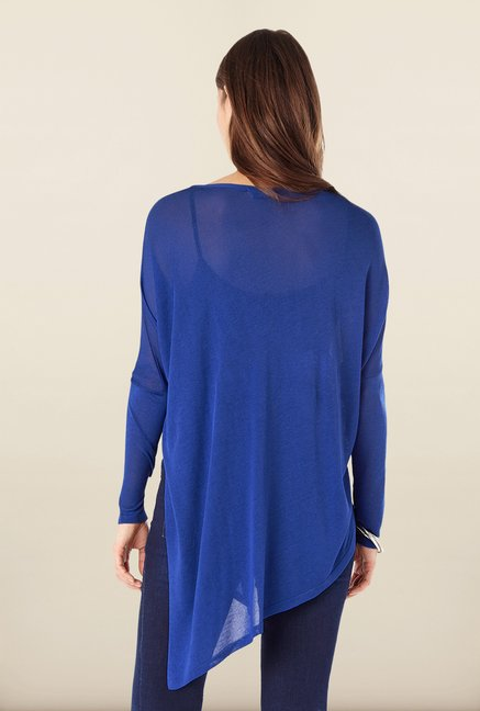 Phase Eight Blue Asymmetric Sweater