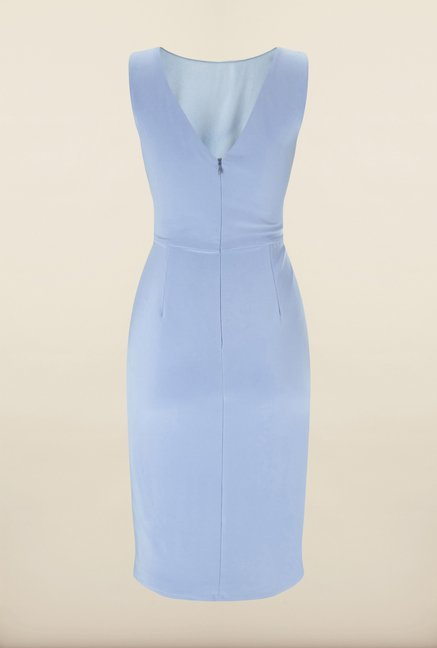 Phase Eight Blue Solid Dress