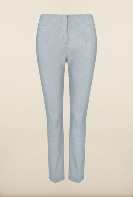 Phase Eight Grey Linen Trousers
