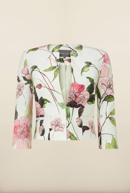 Phase Eight White Floral Jacket