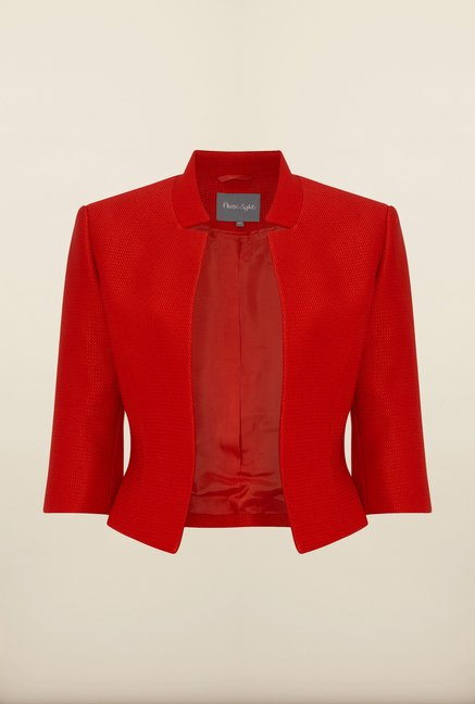 Phase Eight Red Textured Jacket