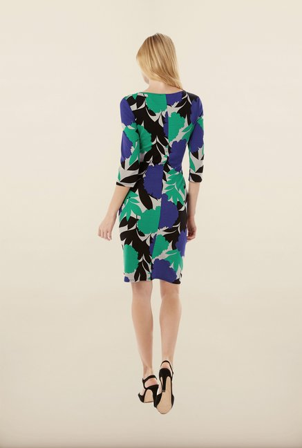 Phase Eight Multicolor Printed Jersey Dress