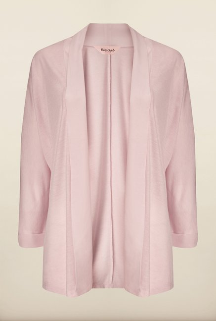 Phase Eight Pink Solid Cardigan