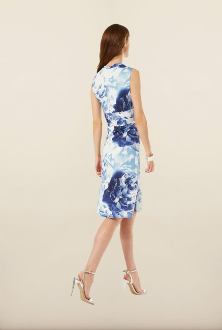 Phase Eight Blue Floral Dress