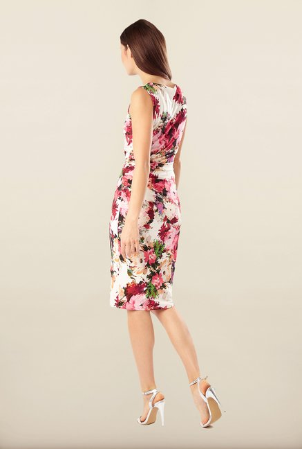 Phase Eight White Floral Casual Dress