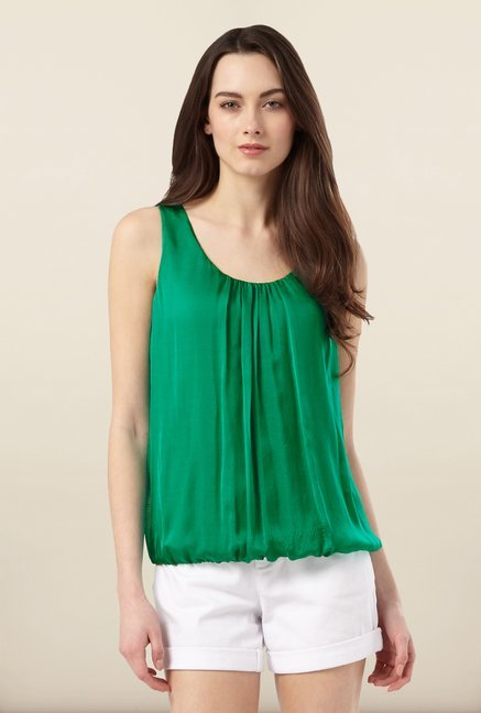 Phase Eight Green Solid Top