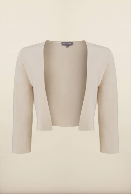 Phase Eight White Solid Jacket