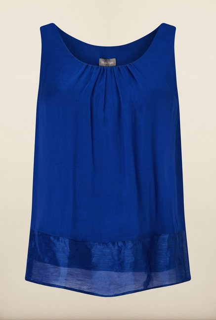 Phase Eight Blue Solid Top