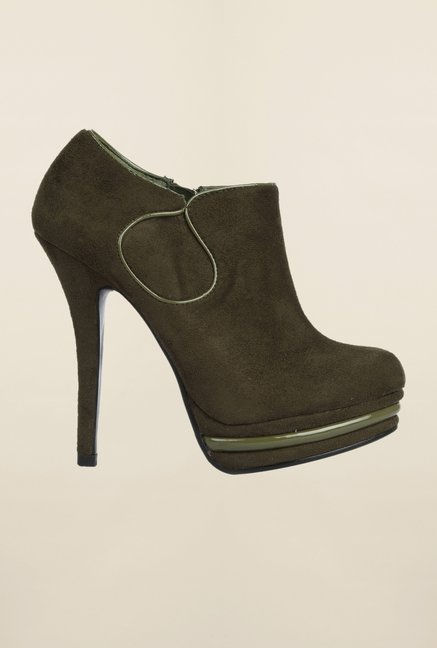 Cobblerz Olive Stiletto Shoes