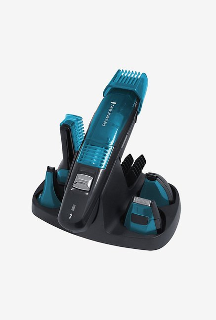 Remington PG6070 Vacuum 5 in 1 Grooming Kit (Blue)