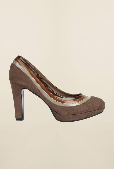 Cobblerz Brown Stiletto Shoes