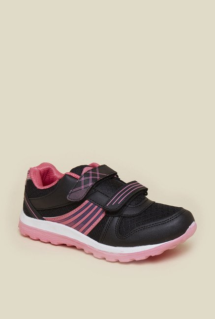 Zudio Black Running Shoes