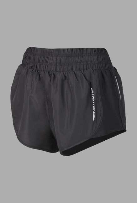 Outpace Black Running Shorts