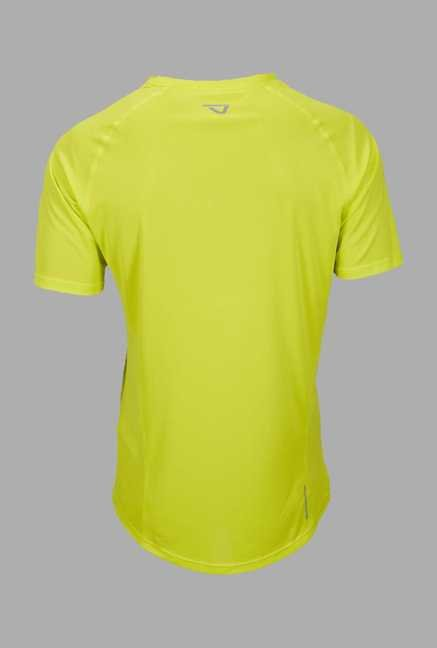 Outpace Lime Running T Shirt